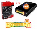 3TB Hyperspin Hard Drive EXTERNAL with Microsoft Xbox 360 Wireless Controller & Receiver